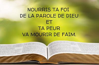 Calendrier Biblique : La Foi - la réponse à l'inquiétude (Jours 18-21)