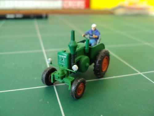 """Le Tracteur """"Percheron"""" de Wiking"""