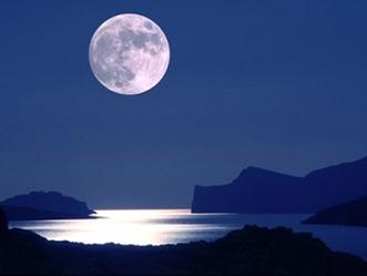 Pleine Lune et l'argent