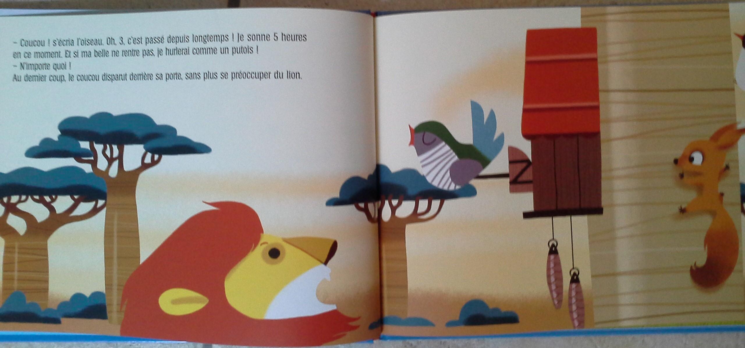 Les Lectures De Sanléane Le Lion Qui Ne Savait Pas Compter