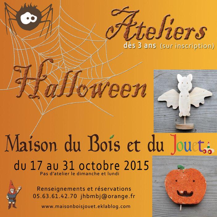 Ateliers 2015 : Halloween !