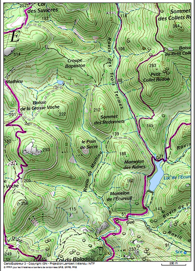 ESTEREL : Lac de la Grosse Vache