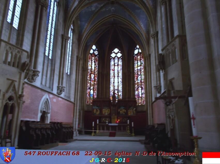 22/09/2015   EGLISE  N -D  DE  L'ASSOMPTION   ROUFFACH  68   2/5   D  02/05/2016