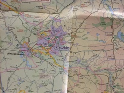 Never without my Sustrans cycle routes maps