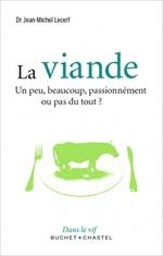 """couverture du livre """"la viande"""" de Jean-Michel Lecerf"""