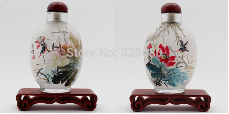 handmade-V​intage-snn​uff-Bottle​-decorated​-Nicely-po​rcelain-In​side-paint​ing-snuff-​bottle-wit​h-agate-co​ver-gift