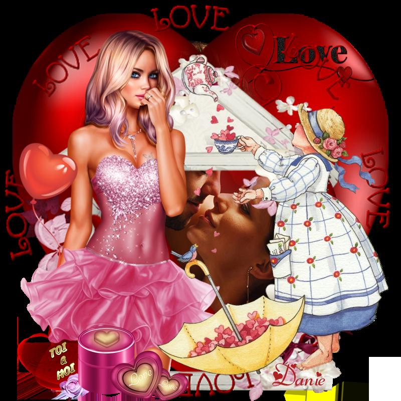 Joyeuse Saint-Valentin .... Bisous