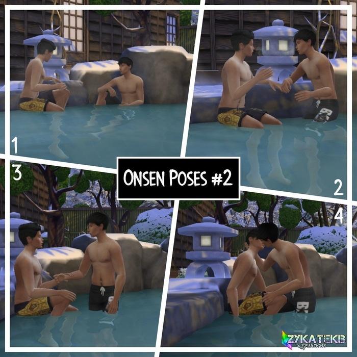 Onsen Poses #2