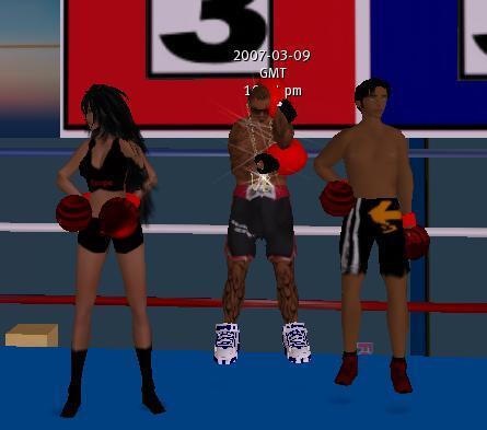 championne de boxe
