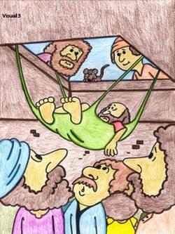 Jésus guérit un paralytique (visuels) MISE A JOUR
