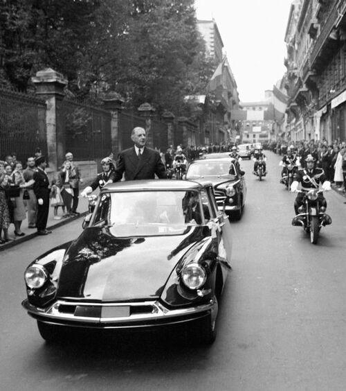 DS voiture présidentielle