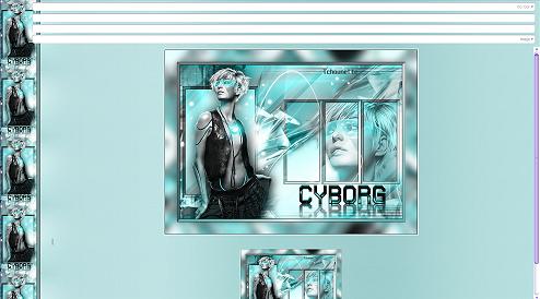 Papier Fantasy Futuriste 11