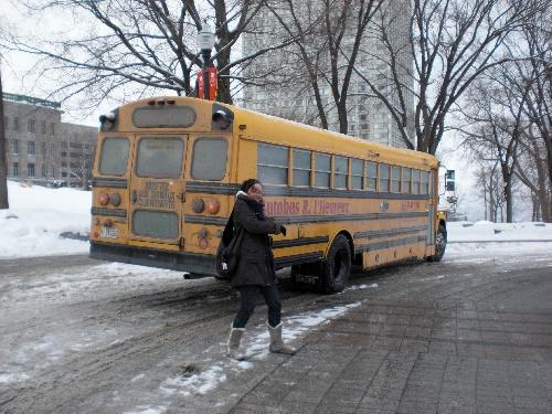 Un bus écolier