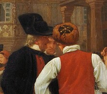 Samedi - Courbet et Marchal deux scènes, deux styles.