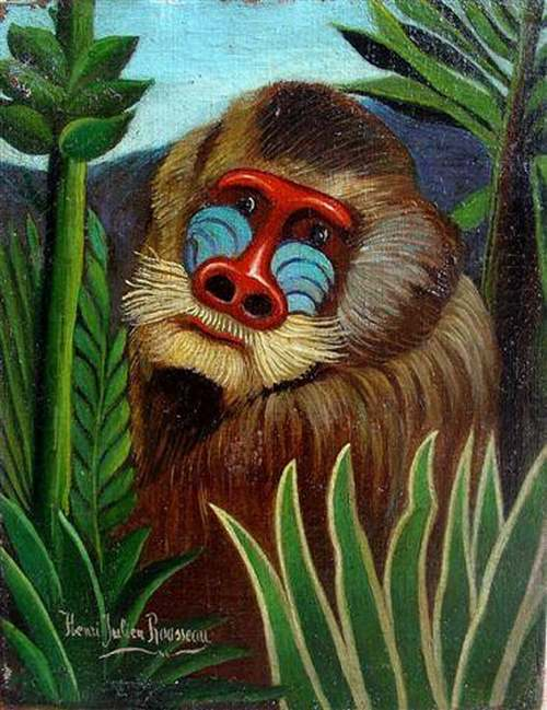 Peinture de :  Henri ROUSSEAU  dit le Douanier Rousseau