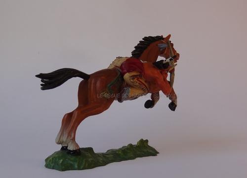 La cavalerie indienne Hausser Elastolin 1