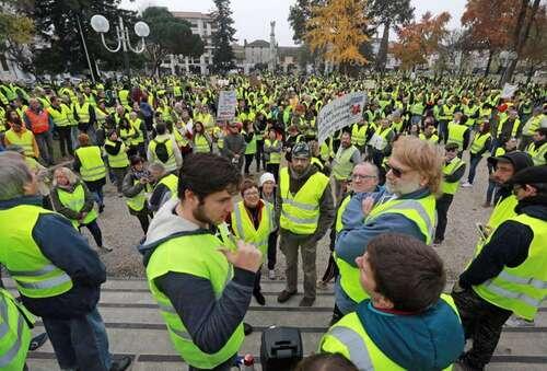 "17 Novembre 2018 ""les gilets jaune"""