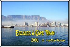 Montage audiovisuel sur deux escales à Cape Town de 10 minutes 28
