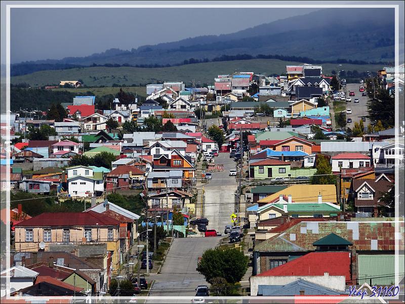 Panorama sur Punta Arenas - Patagonie - Chili