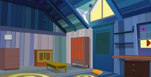 Jouer à Blue wood house escape