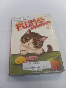 Plum, un amour de chat.