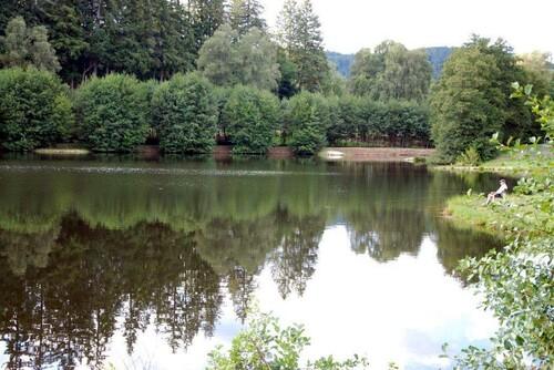 le petit lac de la Garenne