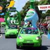Pour la prochaine édition du Tour de France, la caravane publicitaire Teisseire sera composée de 5
