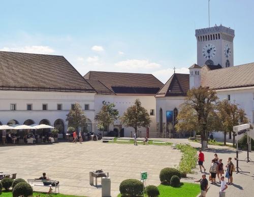 Le çâteau de Ljubljana en Slovénie (photos)