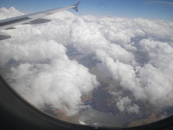 Vol Boa Vista-Paris au dessus le Maroc2