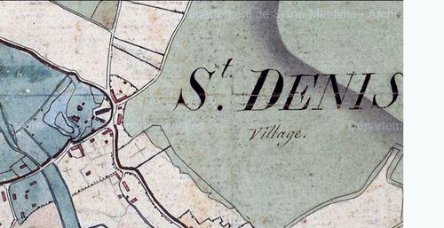 LES REMPARTS DE SAINT-DENIS-LE-THIBOULT (Seine-maritime)
