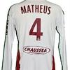 MATHEUS Vivian : Maillot porté METZ 19.03.2010.