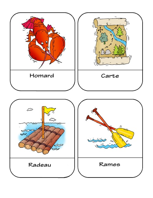 Cartes de vocabulaire 5