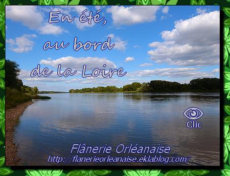 En été, au bord de la Loire