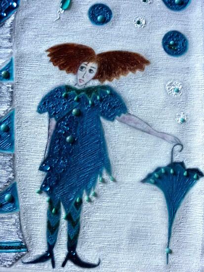 L'arbre à perles et la petite marchande d'ombrelles!