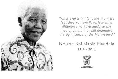 Nomenclatures sur Nelson Mandela gratuites