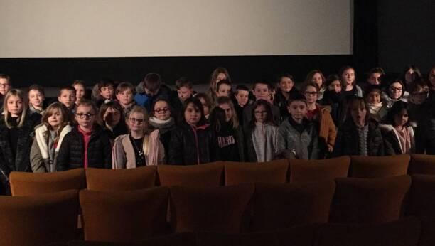Les élèves de CE et CM de l'école saint Jean-Baptiste ont été sensibles au film intitulé «Adama».