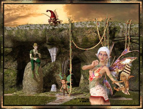 Les elfes et fées