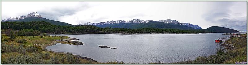 Panoramas sur Bahia Lapataia - Terre de Feu - Patagonie - Argentine
