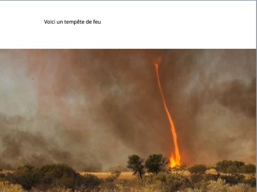 Livre numerique sur les catastrophes naturelles - cm2 sabini