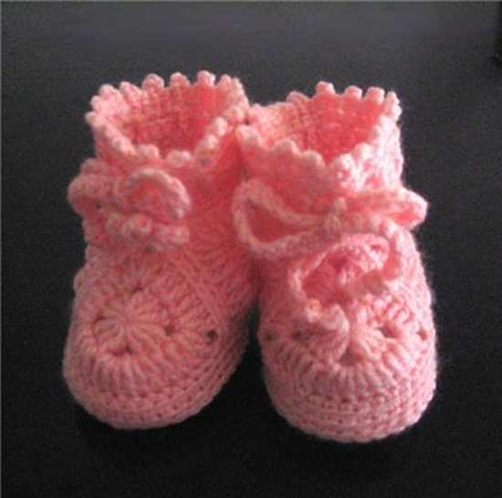Chaussons Granny Rose