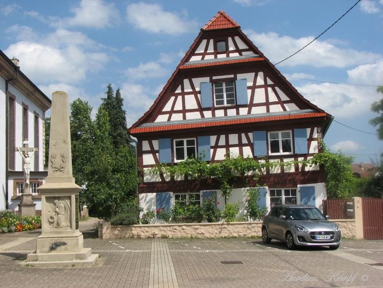 Souffelweyersheim (67): Balade dans le village
