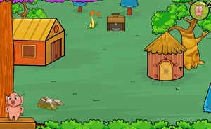 Jouer à Fastrack Games - Piggy land escape 2