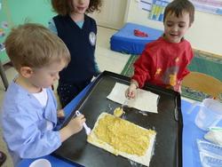 la galette des rois en maternelle et CP
