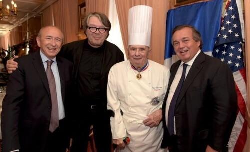 * Paul Bocuse , roi de la gastronomie...mais aussi ancien du B.M.24