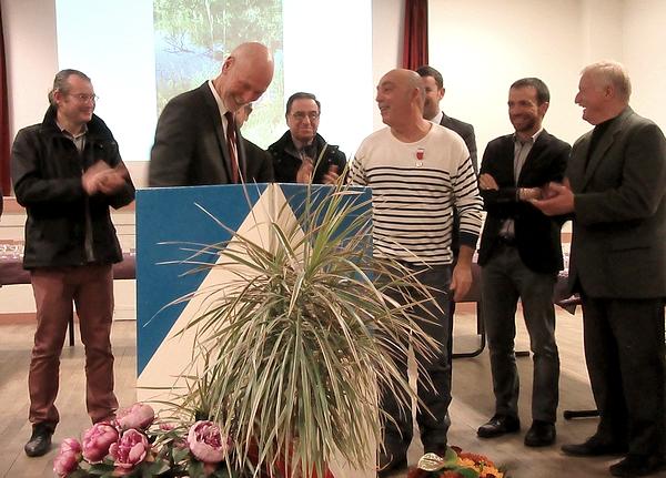Les voeux de Francis Castella, Maire de Sainte-Colombe sur Seine pour 2018