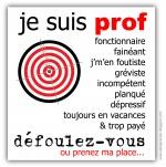 Arrêtons de clouer les enseignants au pilori!(article du Monde)