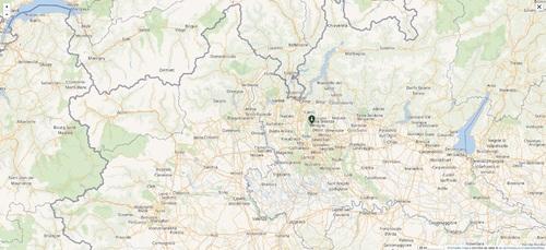 Lieu du drame : Italie Coordonnées 45° 39′ 15″ N, 9° 08′ 54″ E