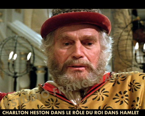 CHARLTON HESTON EN FRANCE EN 1997