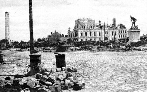 Les premiers bombardements, le 10 mai 1940