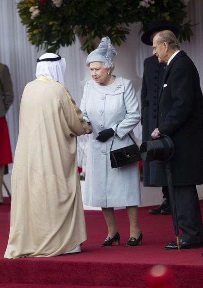 Elizabeth et Philip reçoivent